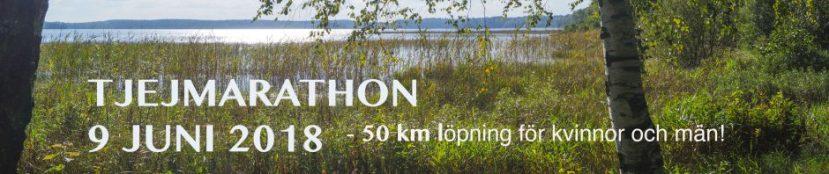 Tjejmarathon 2018- spring förvälgörenhet