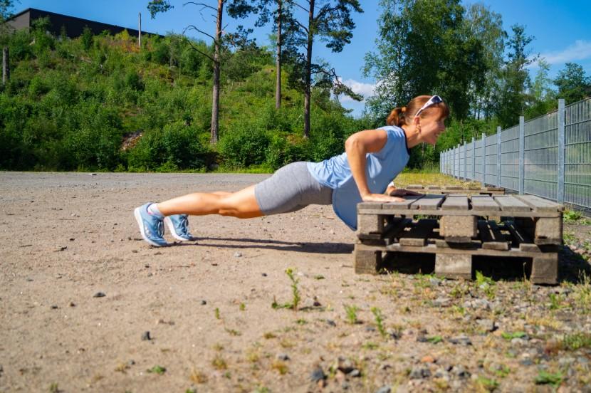 Konditionsträning utan löpning ochhopp