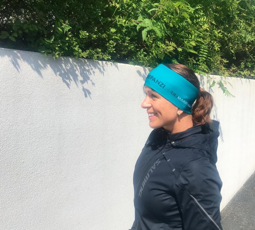 Stöd tjejmarathon- spring där duär!