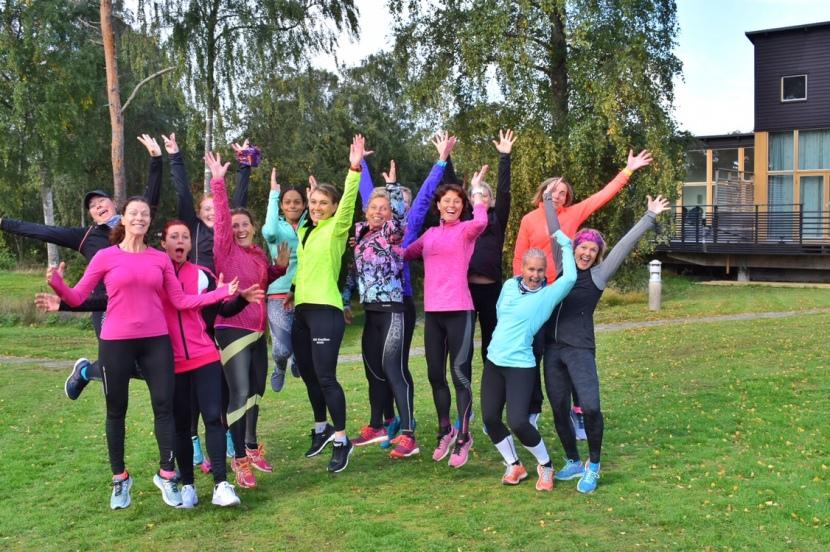 Running Halmstad 2018- skratt, svett ochstorm