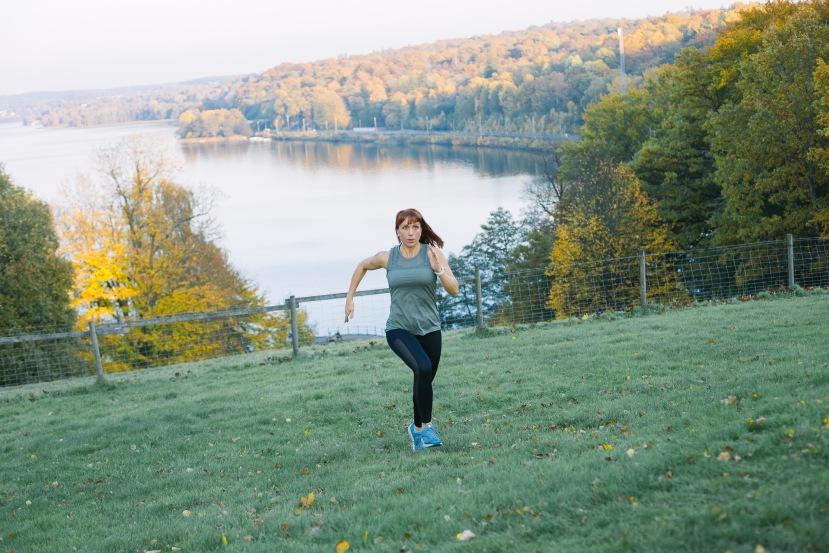 Löpning efter graviditet- steg försteg