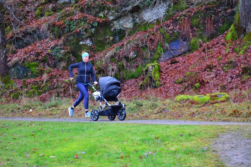 Löpning med barnvagn
